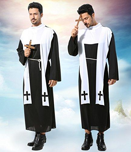牧師 ゴースト  神父 修道士 なりきり ものまね モノマネ 宴会芸 余興 変装 コスプレ 仮装 ハロウィン コスチューム