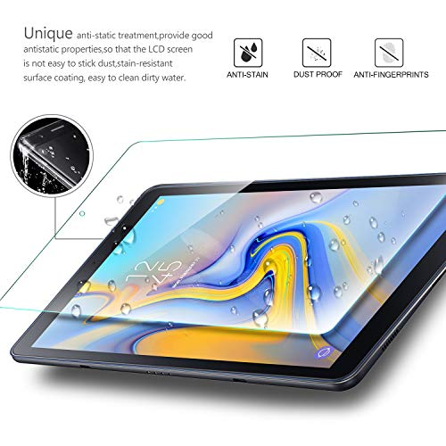 For Galaxy Tab A 8.0 Poetic【Anti-Fingerprint】Tempered Glass Screen Protector