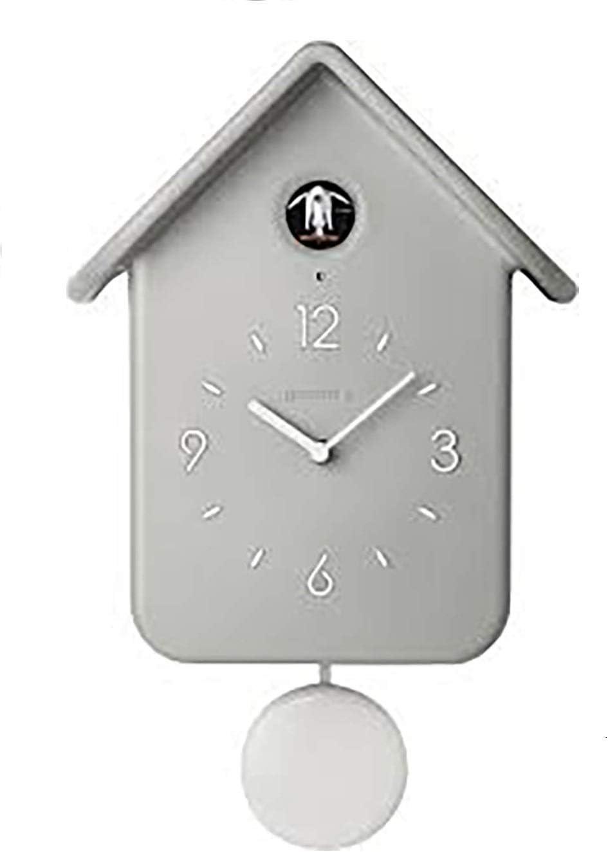guzzini(グッチーニ) 掛け時計 グレー 200ml ウォールクロック QQ CUCKOO 168602-08