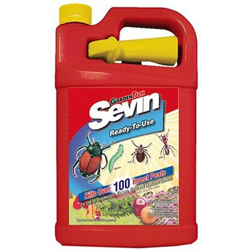 (Sevin 100519576 Ready-to-Use Bug Killer 1 gal, 1 Gallon RTU)