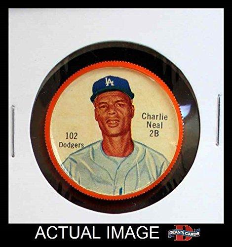 1962 Salada Coins # 102 LA Charlie Neal  - Salada Baseball Coins Shopping Results