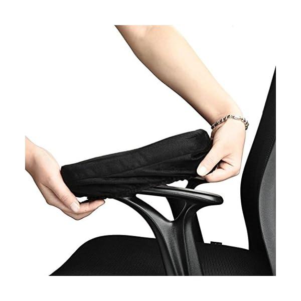 Cuscino in memory foam Taottao bracciolo bracciolo copertura sedia braccioli per gomiti 3 spesavip
