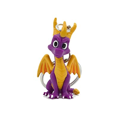 Rubber Road - Llavero 3D Spyro the Dragon: Videojuegos