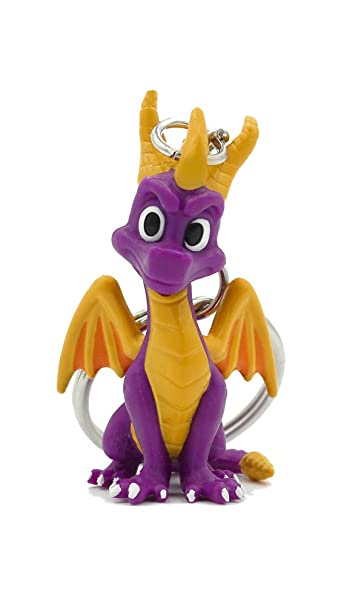 Amazon.com: Llavero oficial de Spyro The Dragon 3D.: Clothing