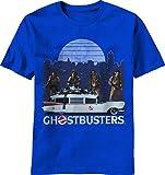 Ghostbusters Low Rider Men's Royal Shirt, Medium