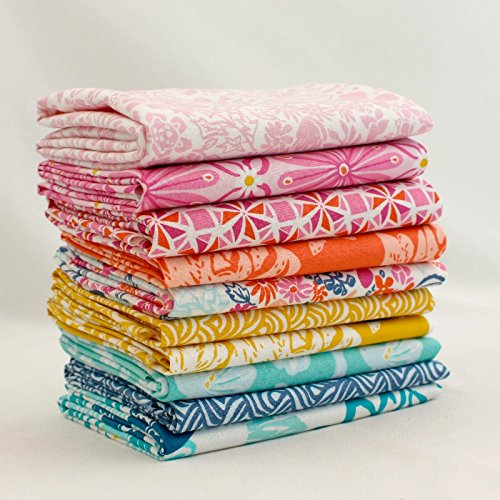 Early Bird - Half Yard Bundle (KS.EB.10Y) by Kate Spain for Moda by United Notions