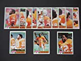 Tampa Bay Buccaneers 1981 Topps Football Team Set (13 Cards) (NFC Central Division Champions) Ricky Bell, Tom Blanchard, Jerry Eckwood, Jimmie Giles, Kevin House, Gordon Jones, David Lewis, Dewey Selmon, Lee Roy Selmon, Doug Williams, Richard Wood, Garo Yepremian