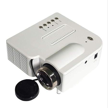 MYYDD Proyector, proyector casero de UC28 + HD, Mini proyector ...
