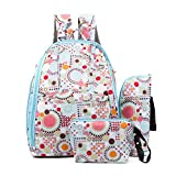 Fashion Smart Organizer System Antibacterial Baby Diaper Bags /Mommy Nappy Backpack With Bottle Bag and Purse,Blue