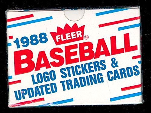 1988 Fleer Baseball Update Complete FACTORY Box Set Updated Traded Craig Biggio