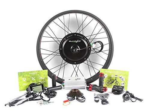 Electric Motor Conversion Kits - EBIKELING 48V 1500W Direct Drive Motor FAT Front Rear Wheel 26