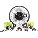 """EBIKELING 48V 1200W Direct Drive Motor FAT Front Rear Wheel 26"""" e-Bike Conversion Kit Electric Bicycle"""