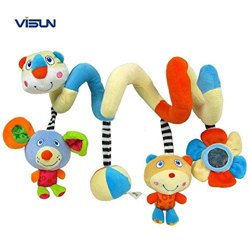 VISUN™ New Activity Cute Spiral Stroller Toy