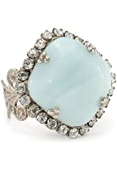 "Sorrelli  ""Aegean Sea"" Divinely Diamond Ring"