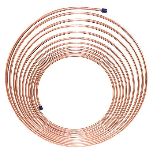 25ft   3/16 in Copper-Nickel Brake Line Tubing Coil (.028 Wall Thickness) 4LifetimeLinesTM