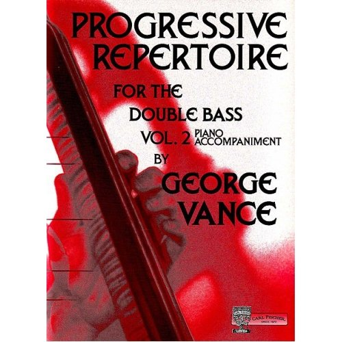 O5462 - Progressive Repertoire for the Double Bass, Vol. (Progressive Repertoire Double Bass)