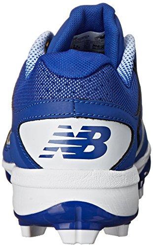 New Balance Mens PL4040V3 Baseball TPU Baseball Shoe, Royal/White, 16 D US