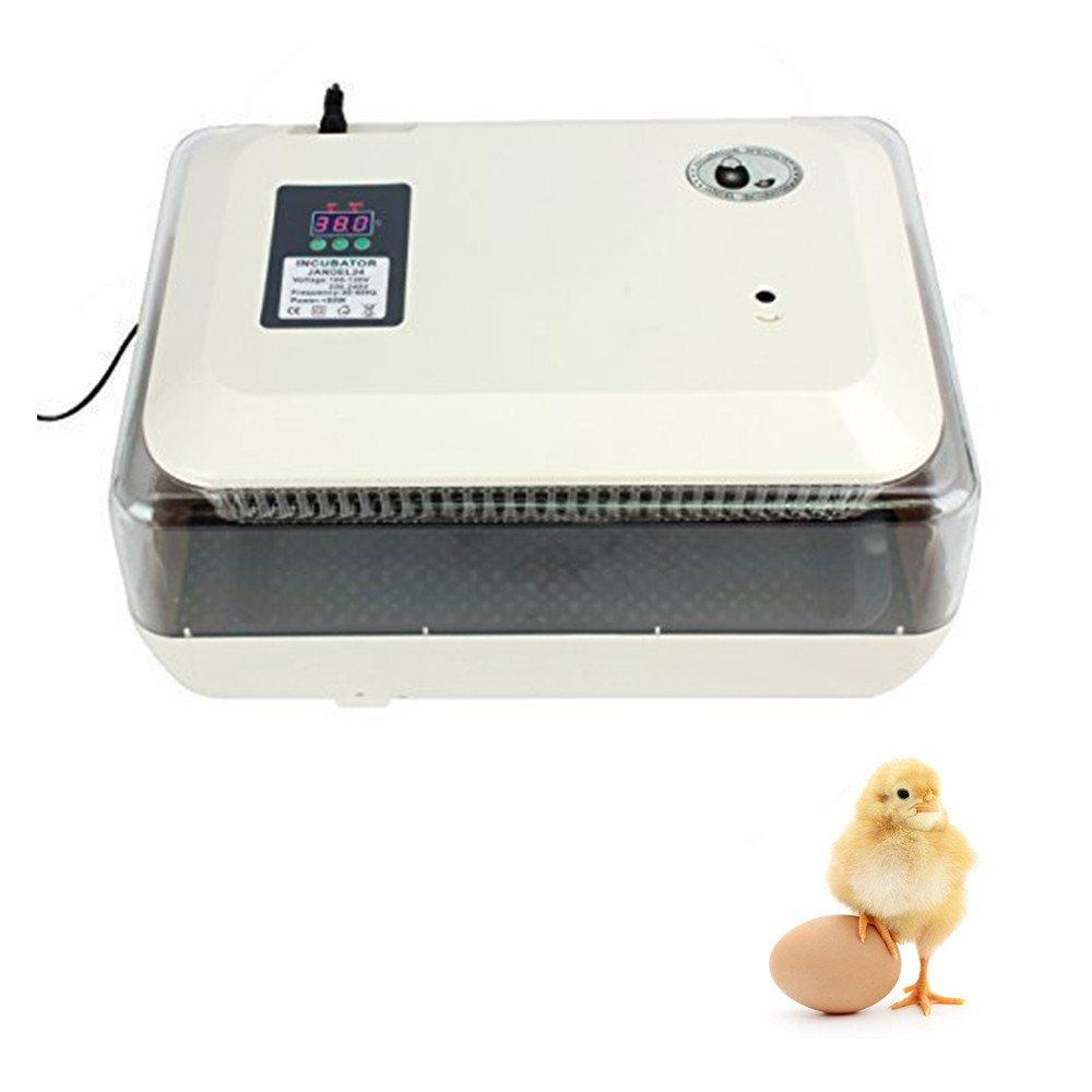 Ridgeyard 24 Egg Incubator Digital Clear Hatcher Temperature Control Automatic Egg Turning Iglobalbuy Co ltd