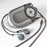 COBY POCKET RADIO/NECK STRAP AM/FM SILVER [Electronics]