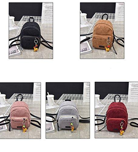 Oruil - Bolso mochila  para mujer marrón
