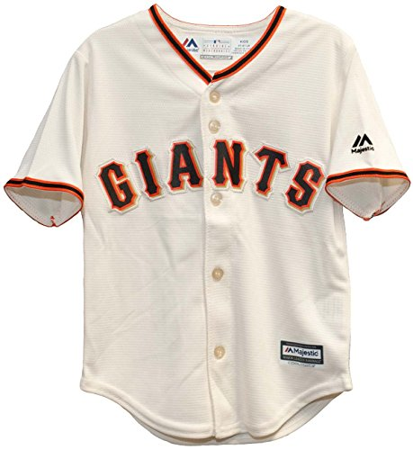 - Majestic MLB San Francisco Giants Ivory Off White Baseball Jersey (18 Month)
