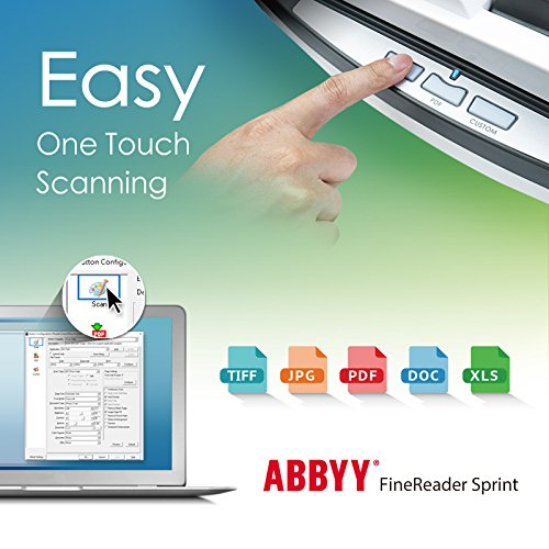 Plustek - High Speed Versatile Scanner, + one. with 50 Document and A4 Size Special Design for Multi Folded documents.