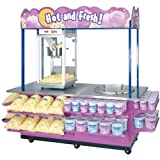 Gold Medal 2951 Combo Cotton Candy & Popcorn Cart