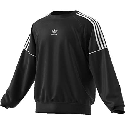 adidas Pipe Crew Sweat Sudadera, Hombre, (Negro/Blanco), S