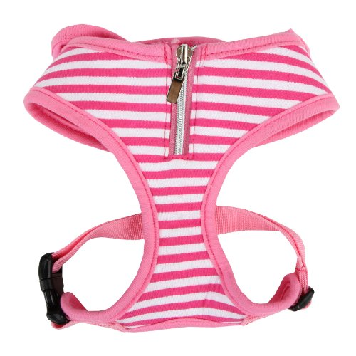 Authentic Puppia Halcyon Harness, Pink, Small, My Pet Supplies