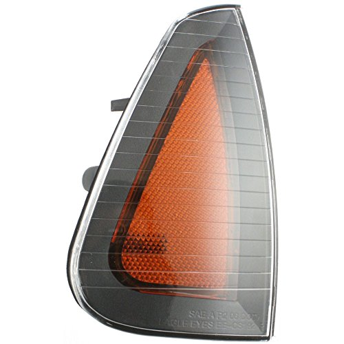 Side Marker Light Lamp Amber Lens w/Bulb(s) Front Right Side compatible with Dodge Charger