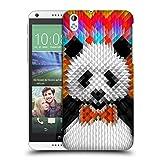 Official Ali Gulec Panda Geometric Hard Back Case for HTC Desire 816