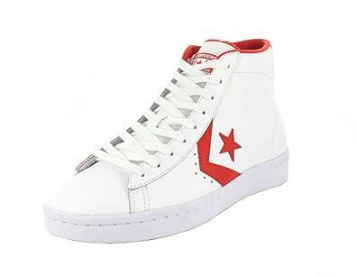 05f05ba68b27e6 Converse Mens Pro Leather 76 High Top White Casino Sneaker - 13 Men - 15