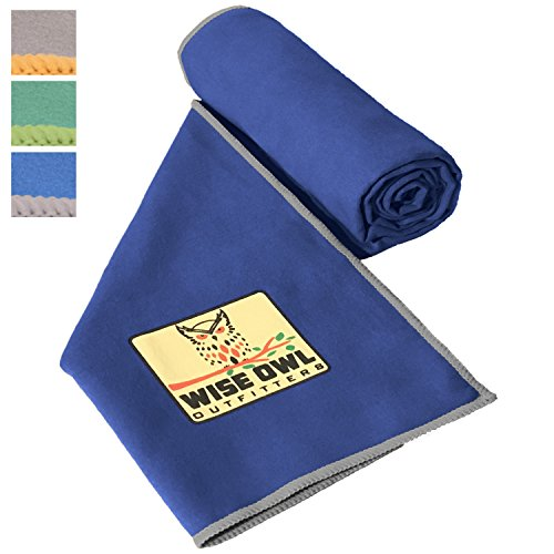 Fitness Towel - Set of Two Towels - Great for All Sports,Camping, Hiking, Yoga, Running And The Gym Or For Your Camp Survival Backpacking Outdoor Or Zombie Gear Bag Too - Large & XL Size 30x60 RB