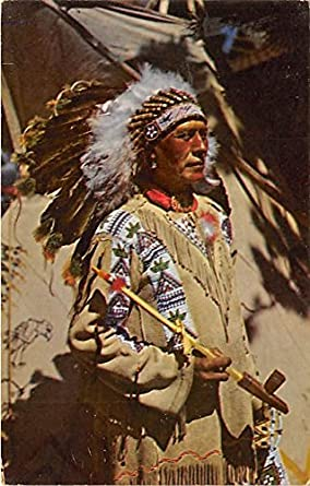 chief running horse indian postcard at amazon s entertainment rh amazon com Indian Chief Motorcycle Logo Cherokee Indian Chief Logo