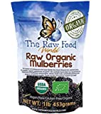 Organic White Turkish Mulberries, 16oz