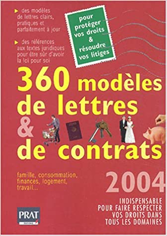 En ligne téléchargement 360 modèles de lettres et de Contrats, édition 2004 pdf ebook