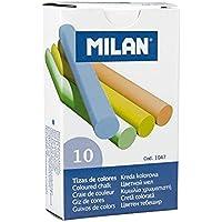 Milan 1047 Kara Tahta Tebeşiri - 5 Renk - (10'lu)