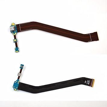 Amazon.com: Conector de carga puerto Flex Cable para Samsung ...