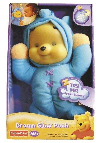 Fisher-Price Winnie The Pooh Dream Glow Pooh (Glow In The Dark Winnie The Pooh Teddy)