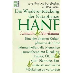 Bild: Buchcover 'Die Wiederentdeckung des Hanf' (Quelle: amazon.com)