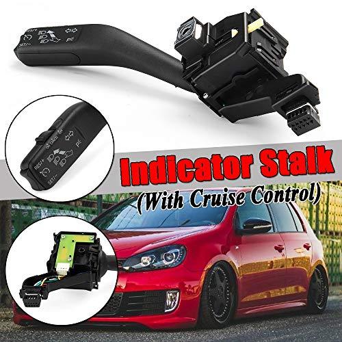 KDKDKLMB Car Turn Signal Indicator Multifunction Stalk Handle Switch,For VW For Volkswagen Scirocco/Tiguan/Touran: