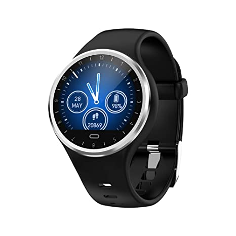 Amazon.com: TechCode Smart Watch with Heart Rate Monitor ...