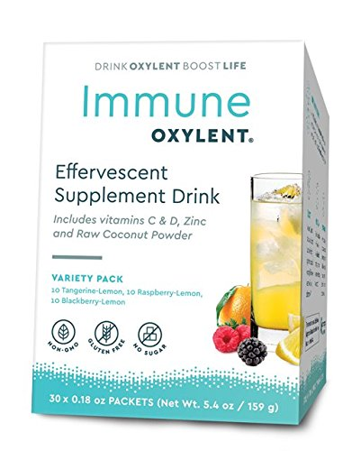 Oxylent Immune Variety Pack 30 Day Supply Box, 5.4 Ounce