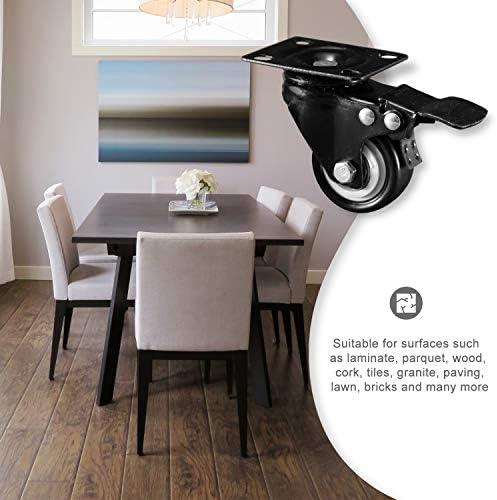 Nirox 4x Ruedas para muebles 50mm - Ruedas giratorias para cargas ...