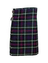 SHYNE_ENTERPRISES Mackenzie Men's 5 Yard Scottish Kilts Tartan Kilt 13oz Highland Casual Kilt