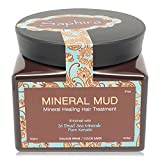 Saphira Mineral Mud Mineral Healing Hair Treatment Enriched with 26 Dead Sea Minerals and Pure Keratin 16.9 Oz / 500 Ml