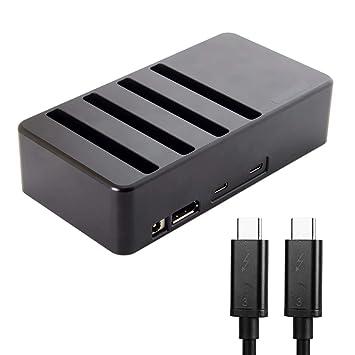 CY Thunderbolt 3 a 4 SATA 6 Gbps HDD SSD Disco Duro Raid ...