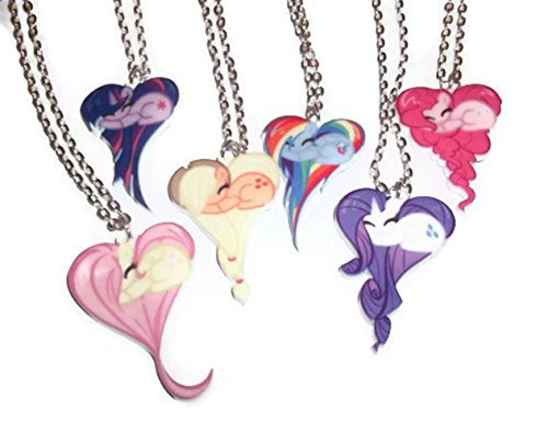 Amazon set of 7 my little pony friendship is magic necklaces set of 7 my little pony friendship is magic necklaces main 6 ponies derpy aloadofball Gallery