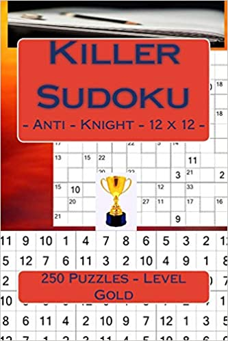 Killer Sudoku - Anti - Knight - 12 x 12 - 250 Puzzles