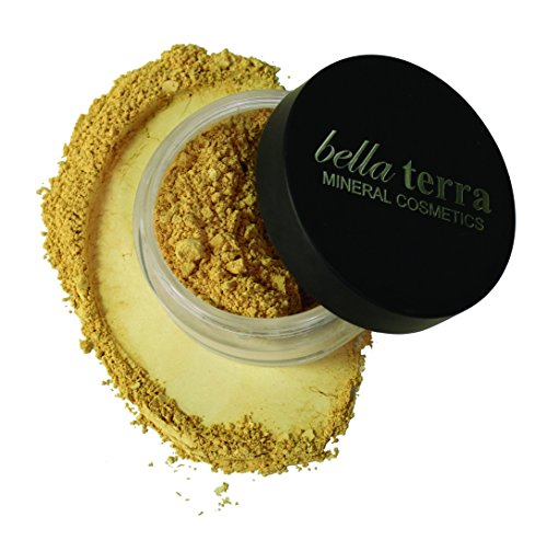 Bella Terra Mineral Powder Foundation | Long-Lasting All-Day Wear | Buildable Sheer to Full Coverage - Matte| Sensitive Skin Approved | Natural SPF 15 (Maple) 9 grams